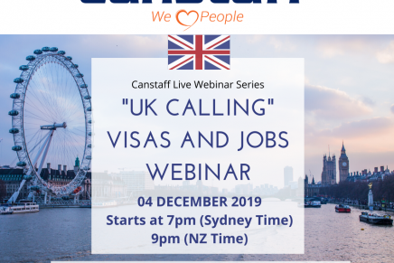 Second in webinar series to concentrate on relocating to the UK